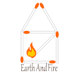 earth and fire logo